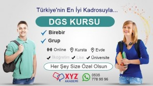 DGS Kursu Kahramanmaraş