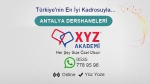 Antalya Dershaneleri
