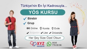 YÖS Kursu İzmir