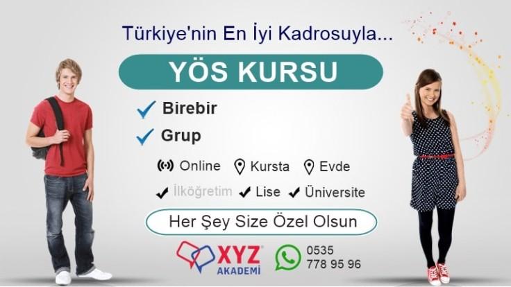 YÖS Kursu Trabzon