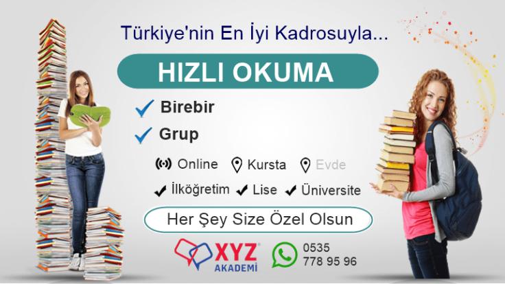 Hızlı Okuma Kursu Akşehir