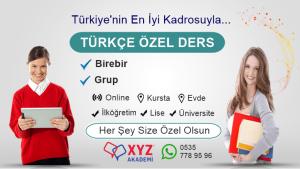 İlköğretim Türkçe Özel Ders