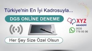 DGS Online Deneme