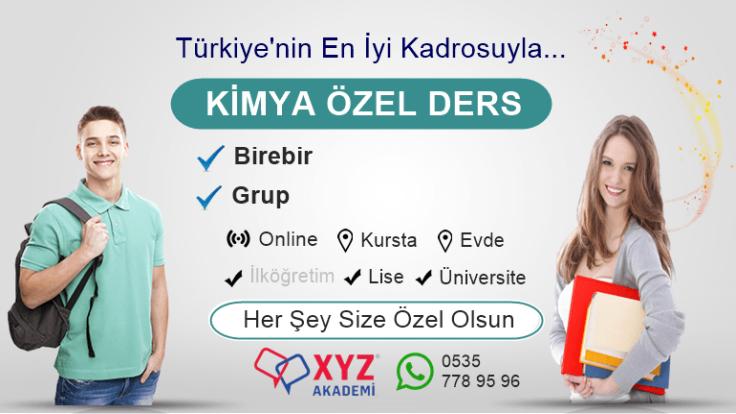 Online Kimya Dersi