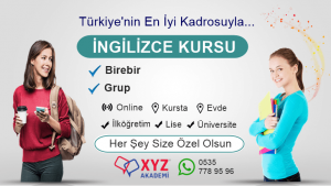 Erzurum İngilizce Özel Ders