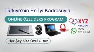 Online Özel Ders Programı