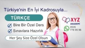 Türkçe Özel Ders İzmit