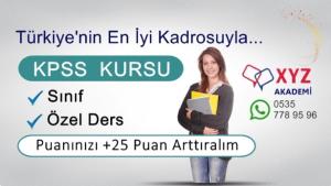 KPSS Kursu Sakarya