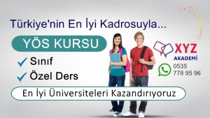 YÖS Kursu Bitlis
