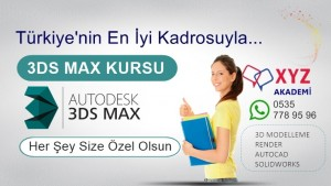 3DS Max Kursu İzmit