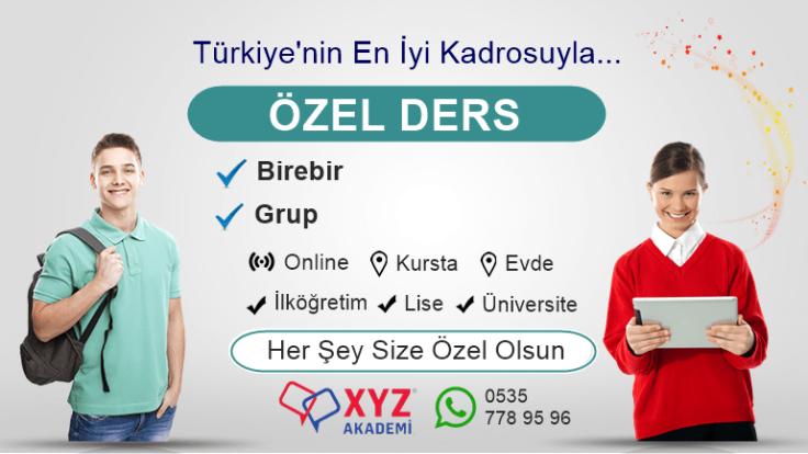 Erzurum Özel Ders