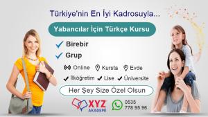 Yabancılar İçin Türkçe Kursu