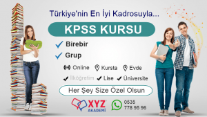 Erzurum KPSS Kursu