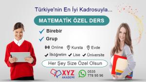Erzurum Matematik Özel Ders