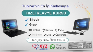 On Parmak Klavye Kursu Trabzon