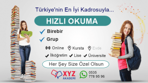 Hızlı Okuma Kursu Ahmetli